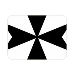 Maltese Cross Double Sided Flano Blanket (mini)  by abbeyz71