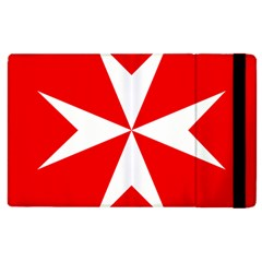 Cross Of The Order Of St  John  Apple Ipad 3/4 Flip Case by abbeyz71