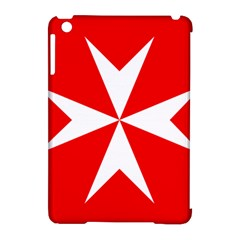 Cross Of The Order Of St  John  Apple Ipad Mini Hardshell Case (compatible With Smart Cover) by abbeyz71