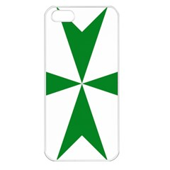 Cross Of Saint Lazarus  Apple Iphone 5 Seamless Case (white)