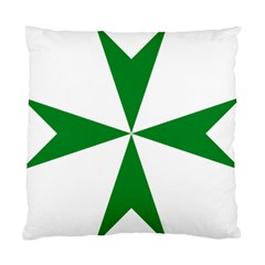 Cross Of Saint Lazarus Standard Cushion Case (two Sides) by abbeyz71
