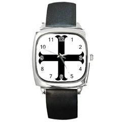 Cross Moline Square Metal Watch by abbeyz71