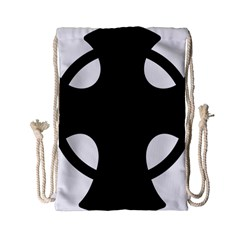 Cross Of Novgorod Drawstring Bag (small) by abbeyz71