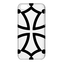 Occitan Cross\ Apple Iphone 5c Hardshell Case by abbeyz71