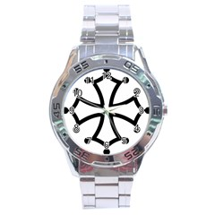 Occitan Cross Stainless Steel Analogue Watch by abbeyz71