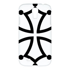 Occitan Cross Samsung Galaxy S4 I9500/i9505 Hardshell Case by abbeyz71