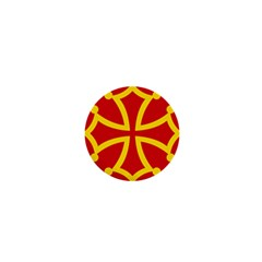 Flag Of Occitania 1  Mini Buttons by abbeyz71