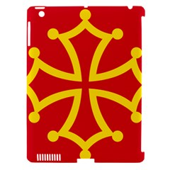 Flag Of Occitania Apple Ipad 3/4 Hardshell Case (compatible With Smart Cover) by abbeyz71
