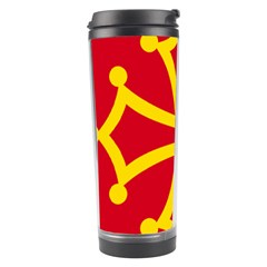 Flag Of Occitania Travel Tumbler by abbeyz71
