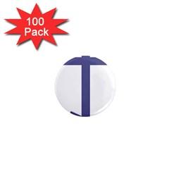 Orthodox Cross  1  Mini Magnets (100 Pack)  by abbeyz71