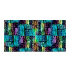 Abstract Square Wall Satin Wrap by Costasonlineshop