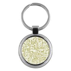 Pattern Key Chains (round)  by Valentinaart
