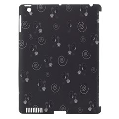 Pattern Apple Ipad 3/4 Hardshell Case (compatible With Smart Cover) by Valentinaart