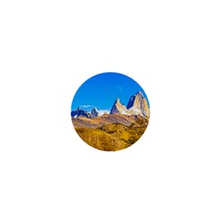 Snowy Andes Mountains, El Chalten, Argentina 1  Mini Buttons by dflcprints