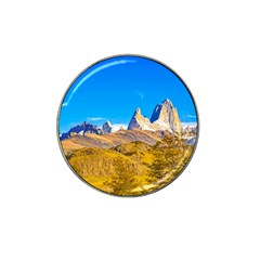 Snowy Andes Mountains, El Chalten, Argentina Hat Clip Ball Marker (10 Pack) by dflcprints