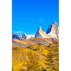 Snowy Andes Mountains, El Chalten, Argentina 5 5  X 8 5  Notebooks by dflcprints