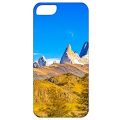 Snowy Andes Mountains, El Chalten, Argentina Apple Iphone 5 Classic Hardshell Case by dflcprints