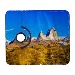 Snowy Andes Mountains, El Chalten, Argentina Galaxy S3 (flip/folio) by dflcprints