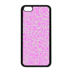 Pattern Apple Iphone 5c Seamless Case (black) by Valentinaart