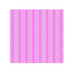Pattern Small Satin Scarf (square) by Valentinaart