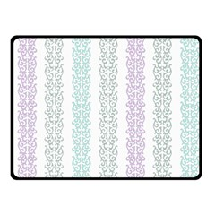 Pattern Fleece Blanket (small) by Valentinaart