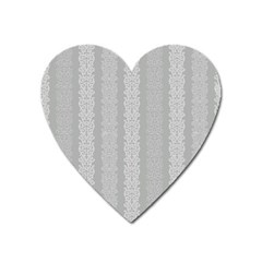 Pattern Heart Magnet by Valentinaart