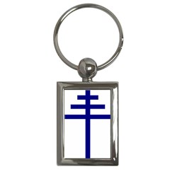 Papal Cross  Key Chains (rectangle)  by abbeyz71
