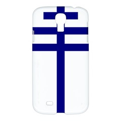 Papal Cross Samsung Galaxy S4 I9500/i9505 Hardshell Case by abbeyz71