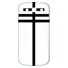 Papal Cross Samsung Galaxy S3 S Iii Classic Hardshell Back Case by abbeyz71