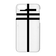 Papal Cross Apple Iphone 7 Hardshell Case by abbeyz71
