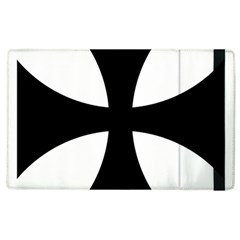 Cross Patty  Apple Ipad 3/4 Flip Case by abbeyz71