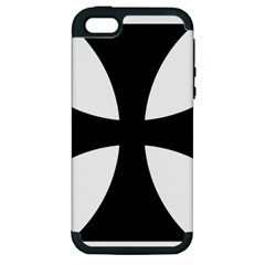 Cross Patty Apple Iphone 5 Hardshell Case (pc+silicone) by abbeyz71