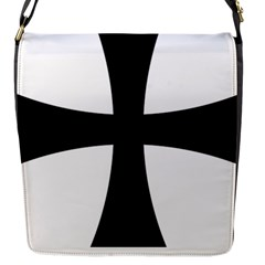 Cross Patty Flap Messenger Bag (s) by abbeyz71