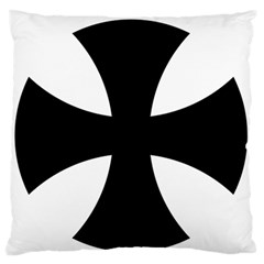 Cross Patty  Large Flano Cushion Case (two Sides) by abbeyz71