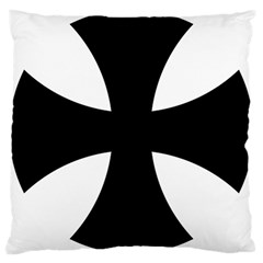 Cross Patty Large Cushion Case (one Side) by abbeyz71
