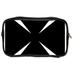 Cross Patty  Toiletries Bags 2 Side