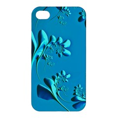 Amazing Floral Fractal A Apple Iphone 4/4s Hardshell Case by Fractalworld
