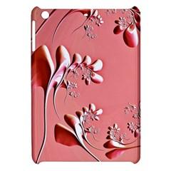 Amazing Floral Fractal B Apple Ipad Mini Hardshell Case by Fractalworld