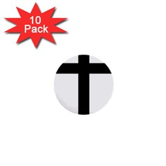 Patriarchal Cross 1  Mini Buttons (10 Pack)  by abbeyz71