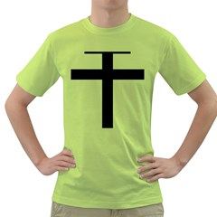 Patriarchal Cross Green T Shirt by abbeyz71