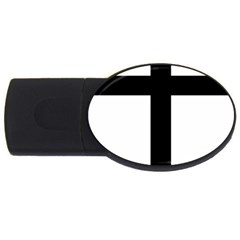 Patriarchal Cross Usb Flash Drive Oval (4 Gb) by abbeyz71