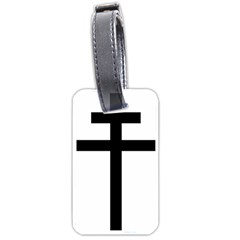 Patriarchal Cross Luggage Tags (one Side)  by abbeyz71
