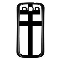 Patriarchal Cross Samsung Galaxy S3 Back Case (black) by abbeyz71