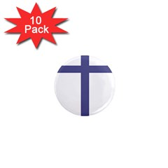 Patriarchal Cross 1  Mini Magnet (10 Pack)  by abbeyz71