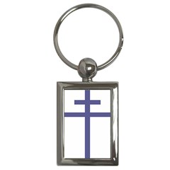 Patriarchal Cross Key Chains (rectangle)  by abbeyz71