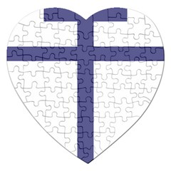 Patriarchal Cross Jigsaw Puzzle (heart) by abbeyz71