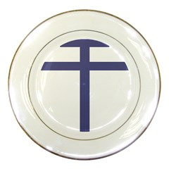 Patriarchal Cross Porcelain Plates by abbeyz71