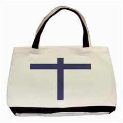 Patriarchal Cross Basic Tote Bag by abbeyz71