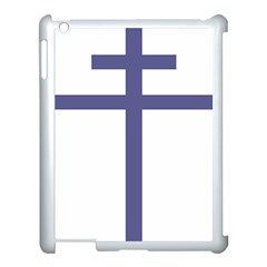 Patriarchal Cross Apple Ipad 3/4 Case (white) by abbeyz71