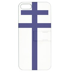 Patriarchal Cross Apple Iphone 5 Hardshell Case With Stand by abbeyz71